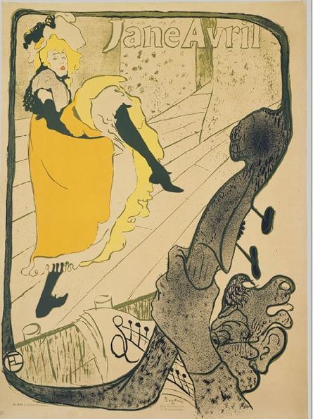 Henri de Toulouse-Lautrec - Jane Avril, 1893 The Metropolitan Museum of Modern Art