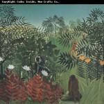 Henri Rousseau dit le Douanier, La Forêt Tropicale avec les Singes
