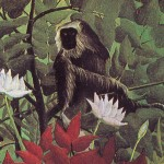 Henri Rousseau detto Il Doganiere, Scimmie nella Foresta tropicale