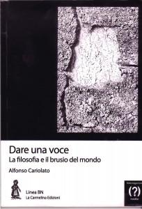 copertina libro DARE UNA VOCE