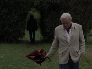 "Anthony Hopkins in """"Quella sera dorata"" (2007) di James Ivory"
