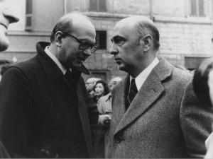 Giorgio Napolitano e Bettino Craxi