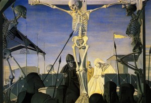 Paul Delvaux, Crucifixion (1952)