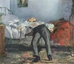 Le Suicidé () di Manet