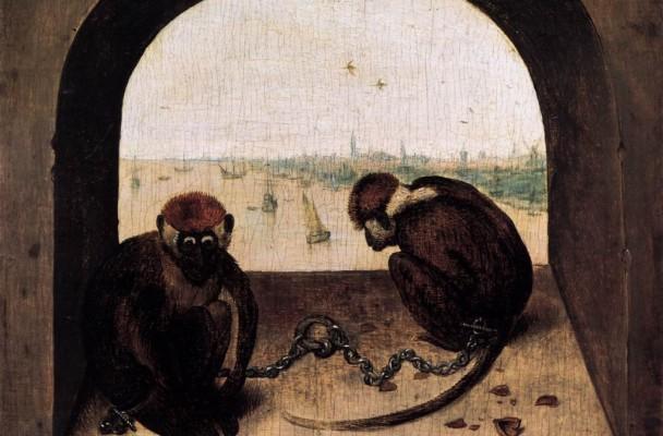 """Bruegel, scimmie"""