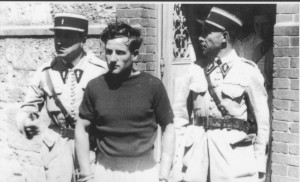 Maurice Pilorge il giorno della sua condanna a morte