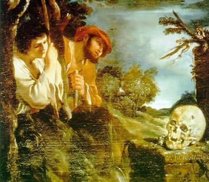"""""""Guercino, Et in Arcadia Ego"""""""