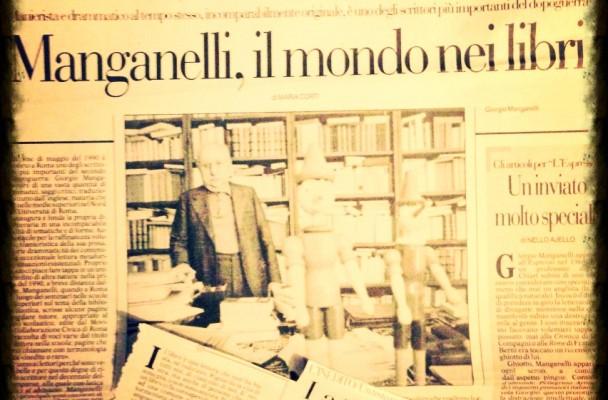 """""""Giorgio Manganelli, La terribile forza del leggere"""""""